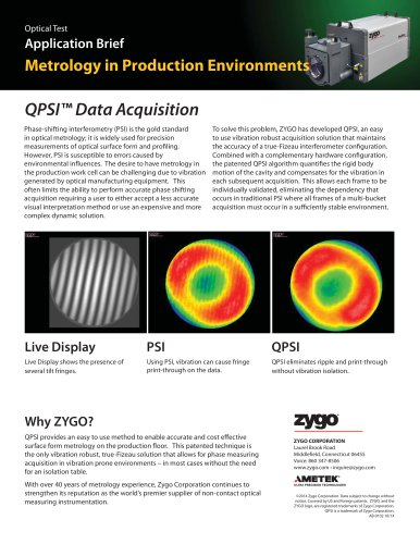 QPSI Technology for Laser Interferometer Systems