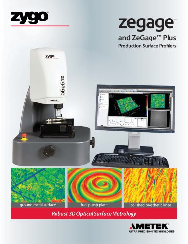 ZeGage™ 3D Optical Surface Profilers