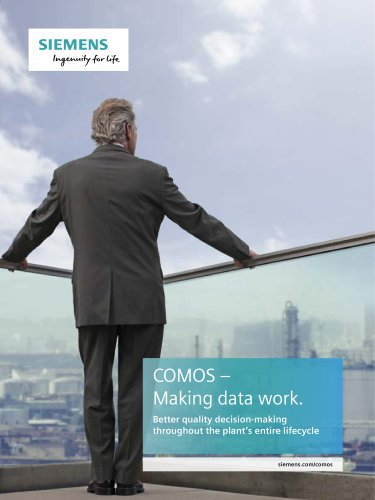 COMOS – Making data work