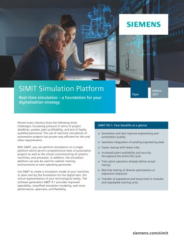 SIMIT simulation software