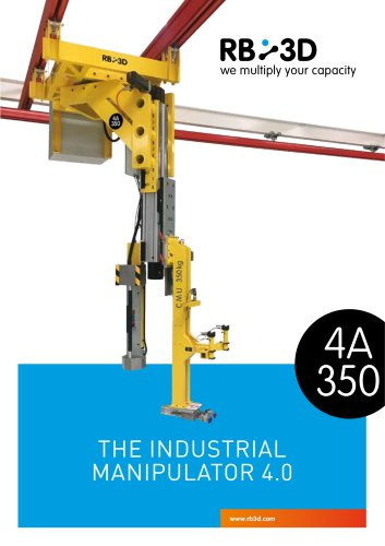 THE INDUSTrIAl MANIPUlATOr 4.0