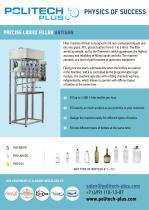 Precise liquid filler Artisan