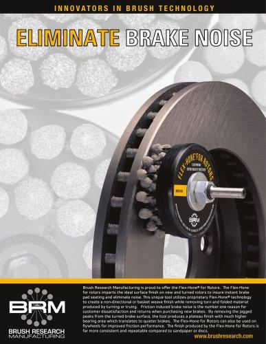 Flex-Hone for Rotors