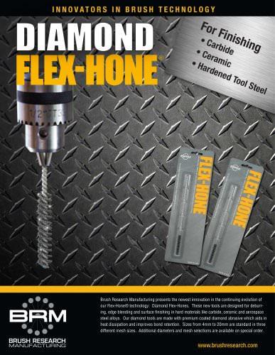 The Diamond Flex-Hone® Tool