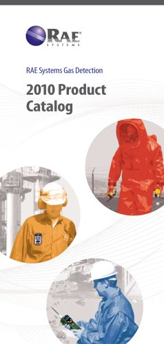 2010 RAE Systems Mini Catalogue