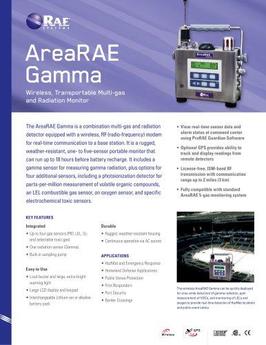 AreaRAE Gamma Steel