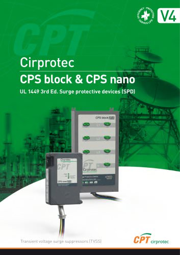 CPT-Cirprotec-V4-SURGE-PROTECTIVE-DEVICES-UL-1449-3rd-Ed-CPS