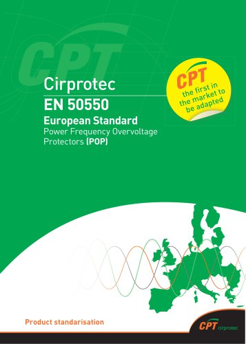 European Standard for power frequency overvoltage protection (POP)