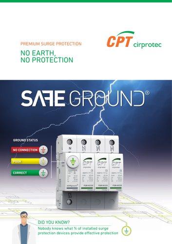 SAFEGROUND ® - No earth, no protection