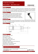 ZHYQ WR-203 Temperature Transmitter for Industrial Temperature Measurement
