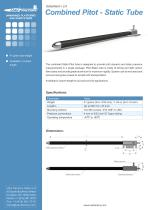 Combined Pitot-Static tube - 1
