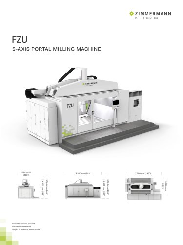 FZU 5-AXIS PORTAL MILLING MACHINE