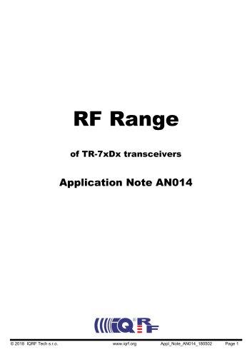 RF Range