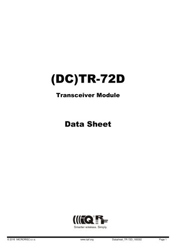 TR-72D series