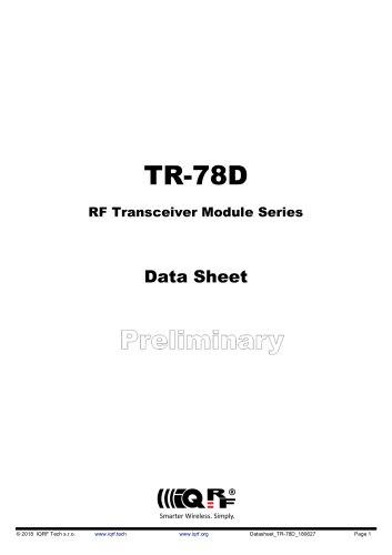 TR-78D