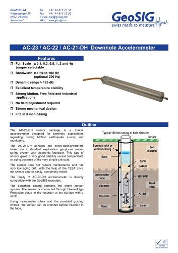 AC-2x-DH Accelerometer