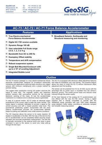 AC-7x Accelerometer