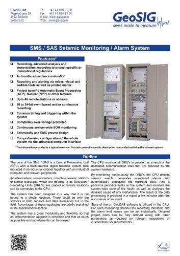 SMS / SAS