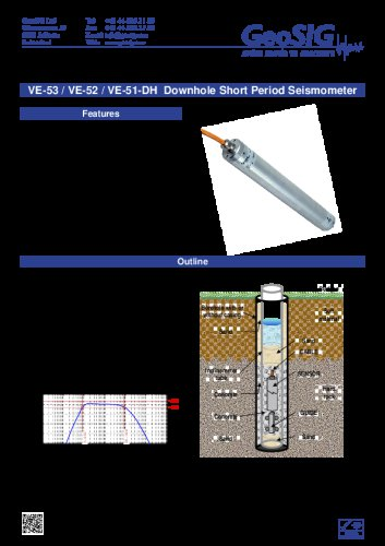 VE-5x-DH Seismometer