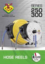 Air/Water hose reels s. 250-300 - 1
