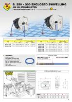 Air/Water hose reels s. 250-300 - 5