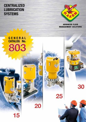 Centralized lubrication system - General catalogue