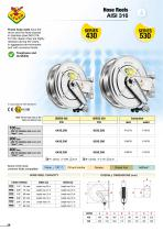 Hose reels AISI 316 - 10