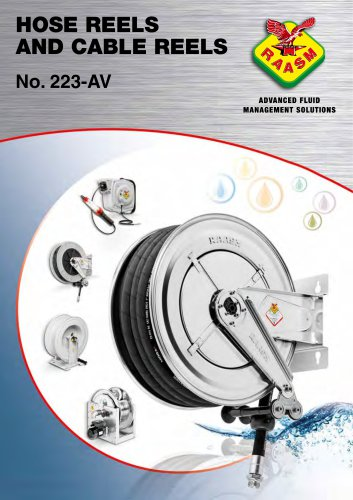 Hose reels and cable reels catalogue