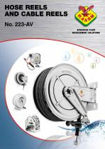 Hose reels and cable reels catalogue - 1