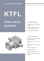 KTFL Series Planetary Gear Reducer/Gearbox