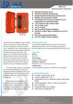 Explosionsgeschütztes IECEX-Minen-Telefon JREX-01 - 1