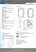 Explosionsgeschütztes IECEX-Minen-Telefon JREX-01 - 2
