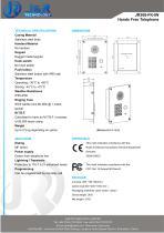 Hands Free SIP Intercom JR308-FK-IW-VoIP - 2