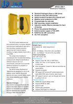 Heavy Duty Industrial Telephone JR101-CB-H - 1