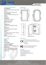 Heavy Duty Industrial Telephone JR101-CB-H - 2