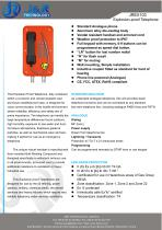 Industrial EXPROOF PHONE JREX103 - 1