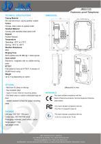 Industrial EXPROOF PHONE JREX103 - 2