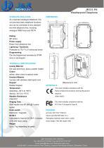 Industrietelefon JR101-FK - 2