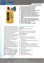 Loud Speaker Mining Telephone With Beacon JR103-FK-HB - 1