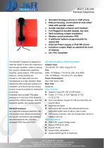 public emergency telephone JR207-CB-OW - 1