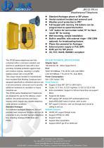 Railway Trackside Telephone JR101-FK-H - 1