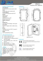 VoIP Explosion Proof Industrial Telephone - 2