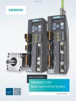 SINAMICS V90 Basic Servo Drive System