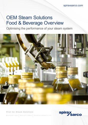 OEM Steam Solutions Food & Beverage overview