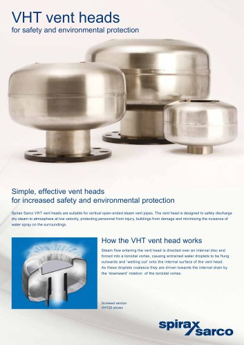VHT vent heads