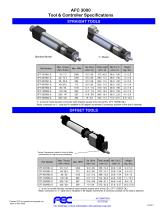 AFC 3000  Tool & Controller Specifications
