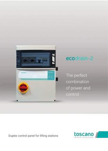 Brochure ECO-Drain-2 - Duplex control panel for lifting stations