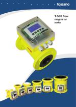 Brochure T500 2014 - Electromagnetic flowmeters