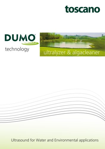 DUMO: Ultrasound for Water and Environmental applications