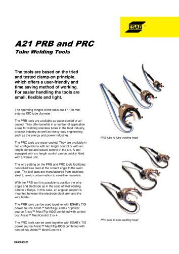 A21 PRB and PRC